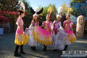 天山天池哈萨克民俗风情园