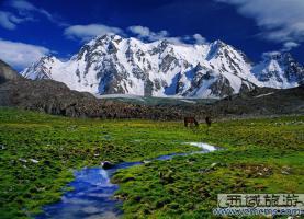 博格达峰景区
